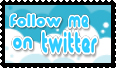 Follow Me - Twitter Stamp by KuraiKyuketsu