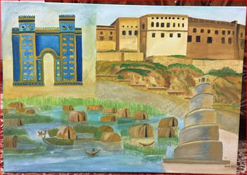 Painting Iraq raised