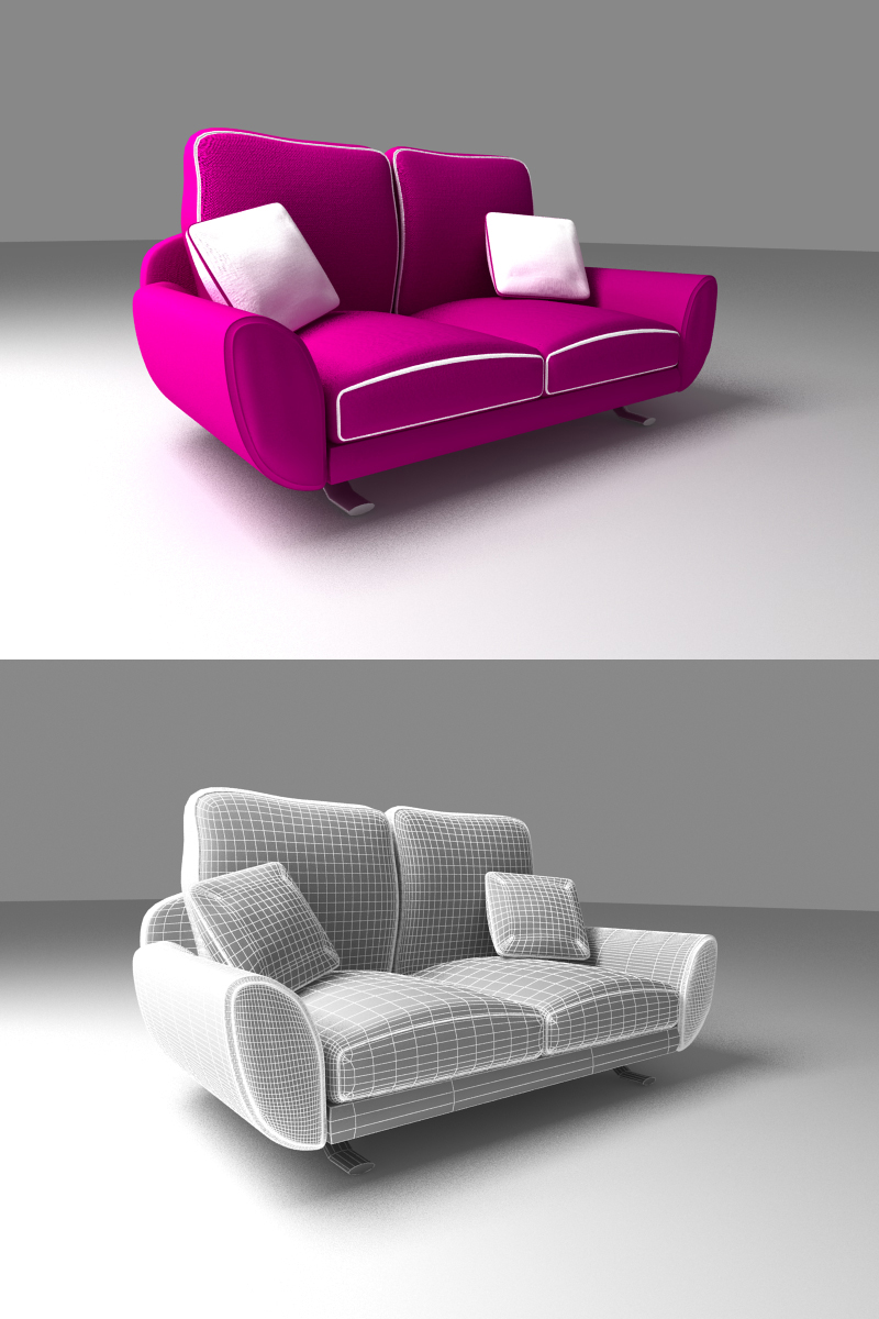 retro sofa couch by aram287 on deviantart. Black Bedroom Furniture Sets. Home Design Ideas