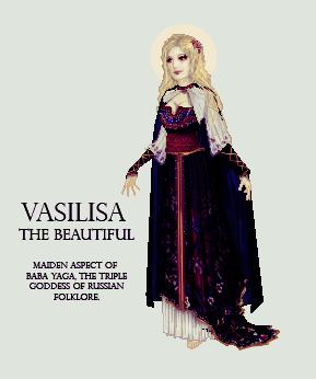 Vasilisa the Brave by edgedolls