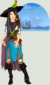 Pirate Lady by edgedolls