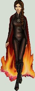 Katniss Everdeen: Girl on Fire by edgedolls