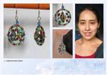 Prism Colour Dreamcatcher Earrings