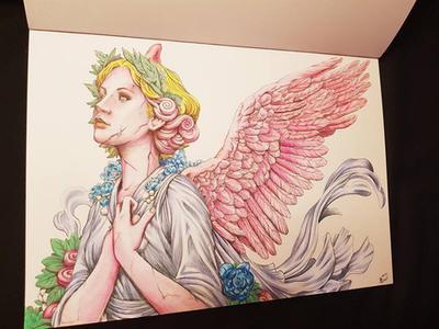 SERENE Coloring Book By Nicholas F Chandrawienata Ilionah
