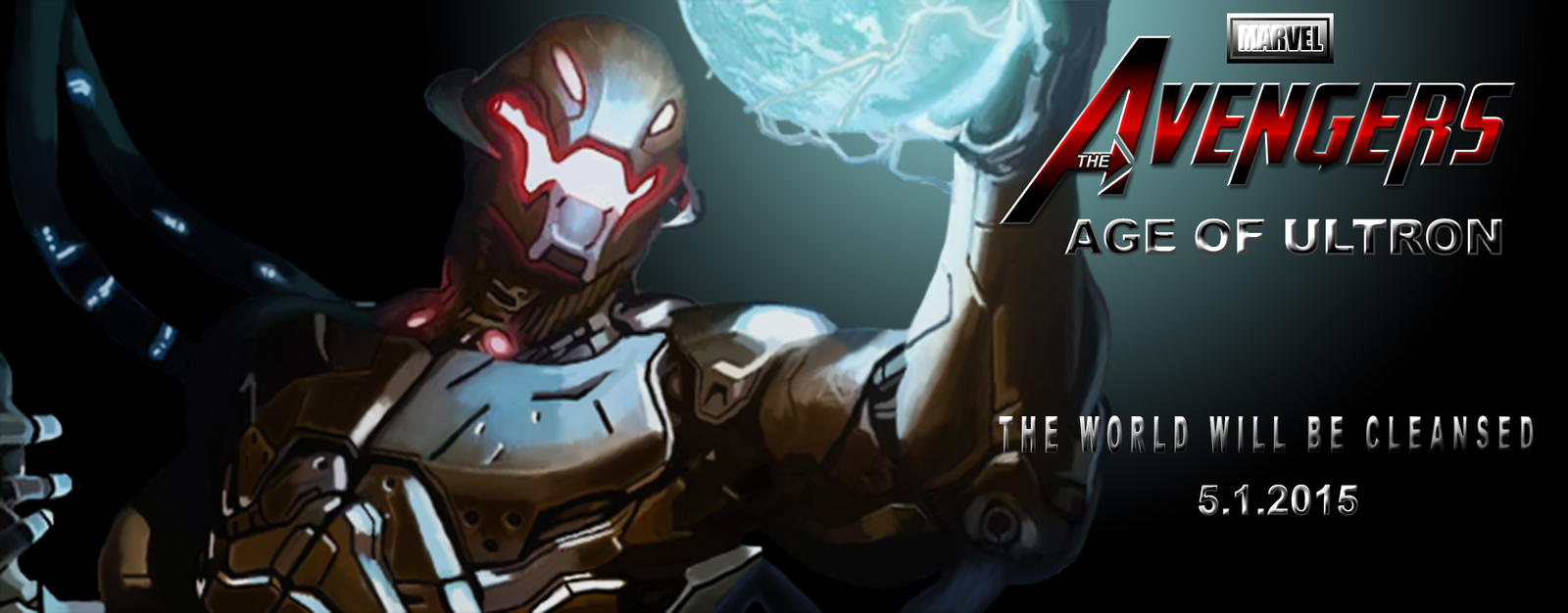 Avengers Age Of Ultron By Iloegbunam On Deviantart: The Avengers Age Of Ultron Promo Poster 2 By Tmaher3 On