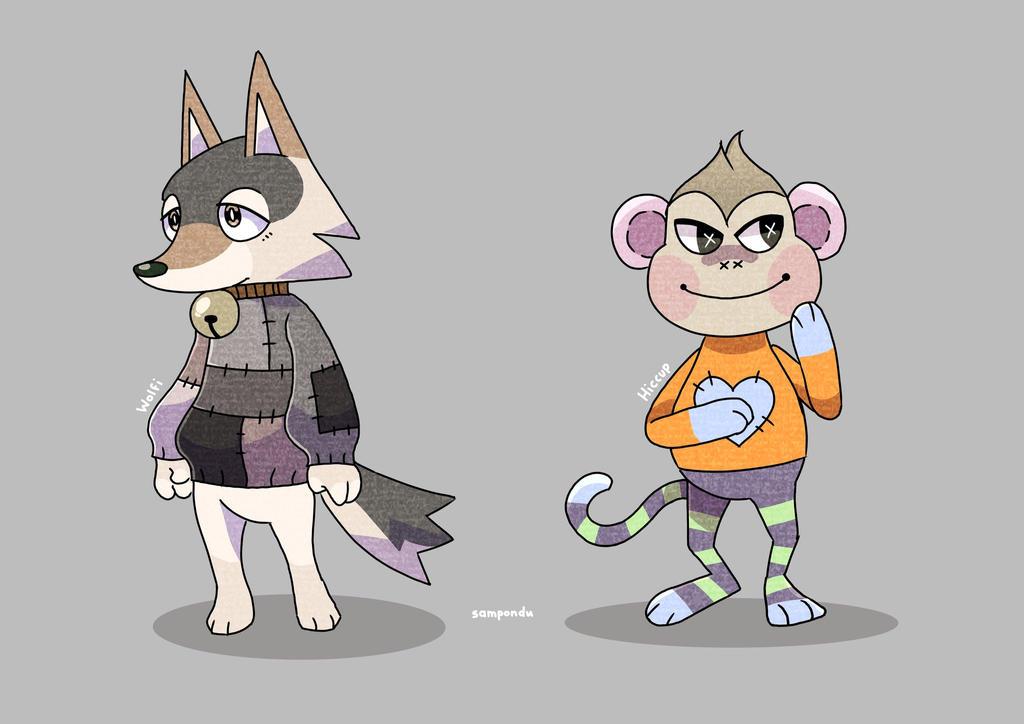 Animal Crossing Plushies