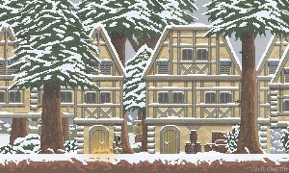 Snow Village by Tundrarich