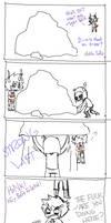 Crappy Comic: Rock by Johorrible