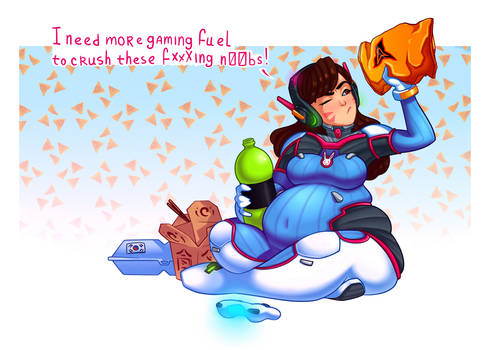 D.Va-the dorito killing machine