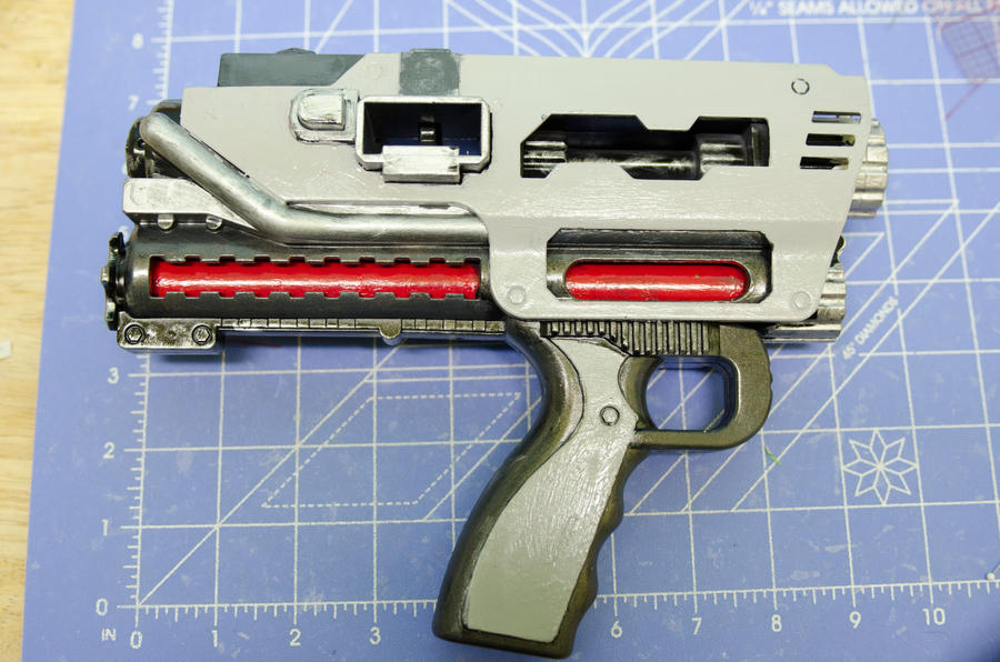 Tediore Machine Pistol Repeater Prop by EnigmaBADGER on DeviantArt