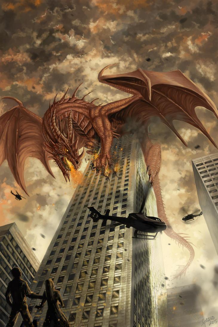 Commission - dragon by x-Celebril-x