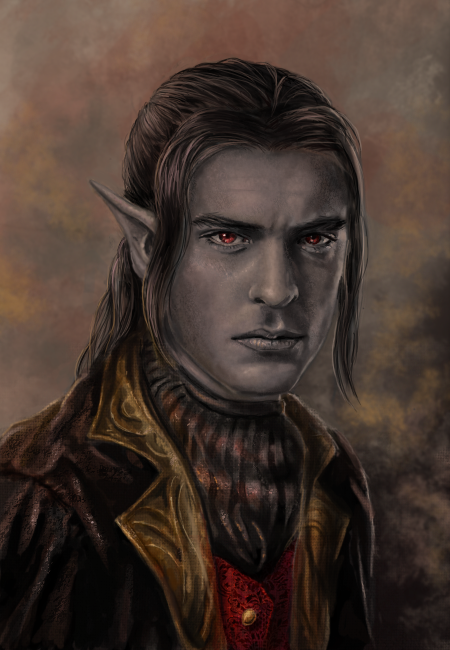 Raldarus D'Veldrin - commission by x-Celebril-x
