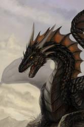 Black Dragon by x-Celebril-x