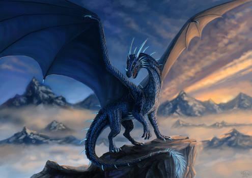 Blue dragon Commission