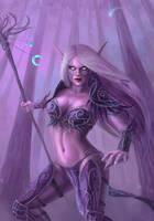 Night Elf Druid by x-Celebril-x