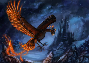 Phoenix Enhanced Form Commission by x-Celebril-x