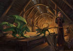 Dragon Hatchlings Commission