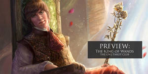 GW2 TAROT - The King of Wands Preview by x-Celebril-x