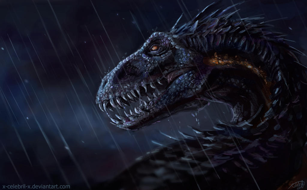 Indoraptor by x-Celebril-x