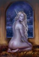 Azriah Commission by x-Celebril-x