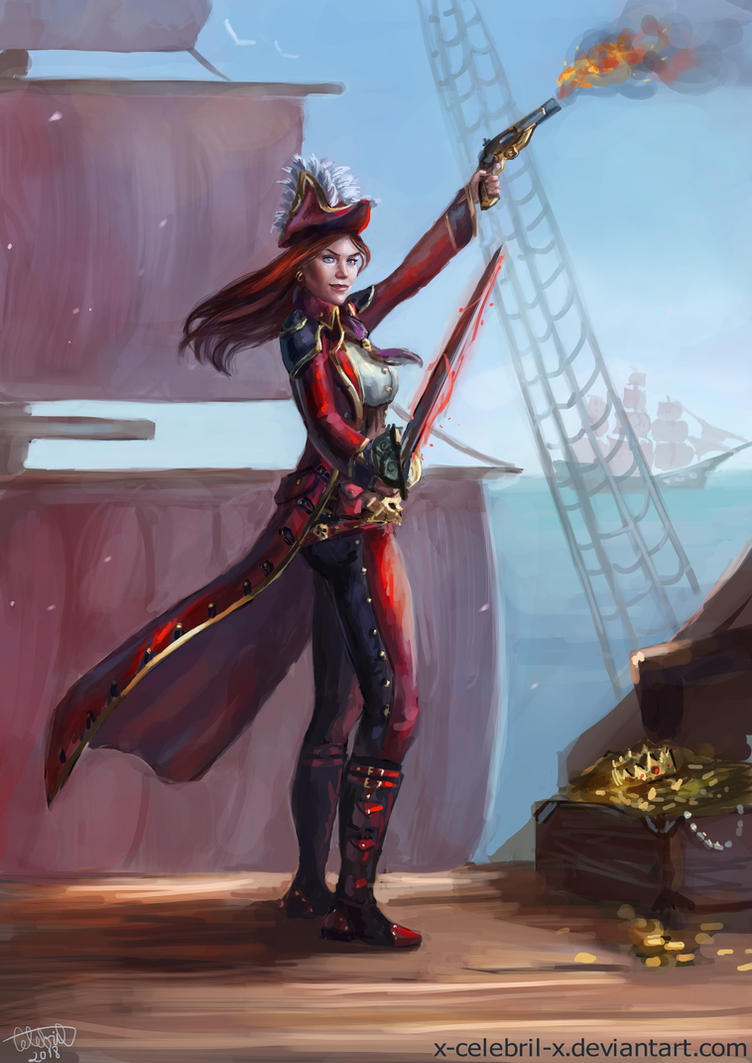 Pirate Princess by x-Celebril-x