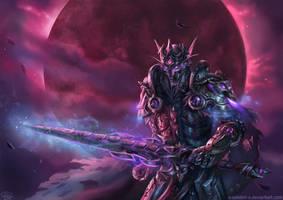 Crimson Night Commission by x-Celebril-x