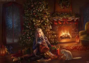 Snowcat Christmas Commission