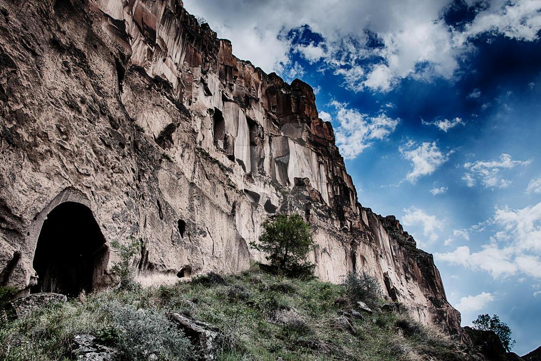 Behind the Stone Walls by onursanat