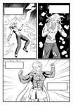 BR test artist - Supergirl transformation