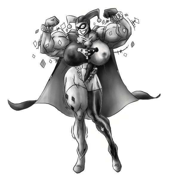 Comics female muscle growth MagnusMagneto Female