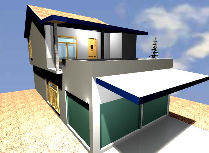 Design Rumah Susun by fatkhun