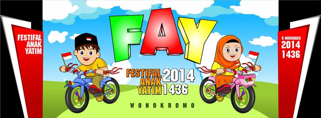 Panngung design Festifal Anak Yatim by fatkhun