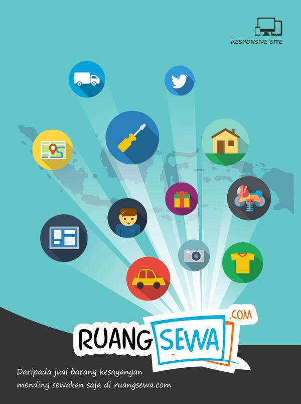Poster ruangsewa.com by fatkhun