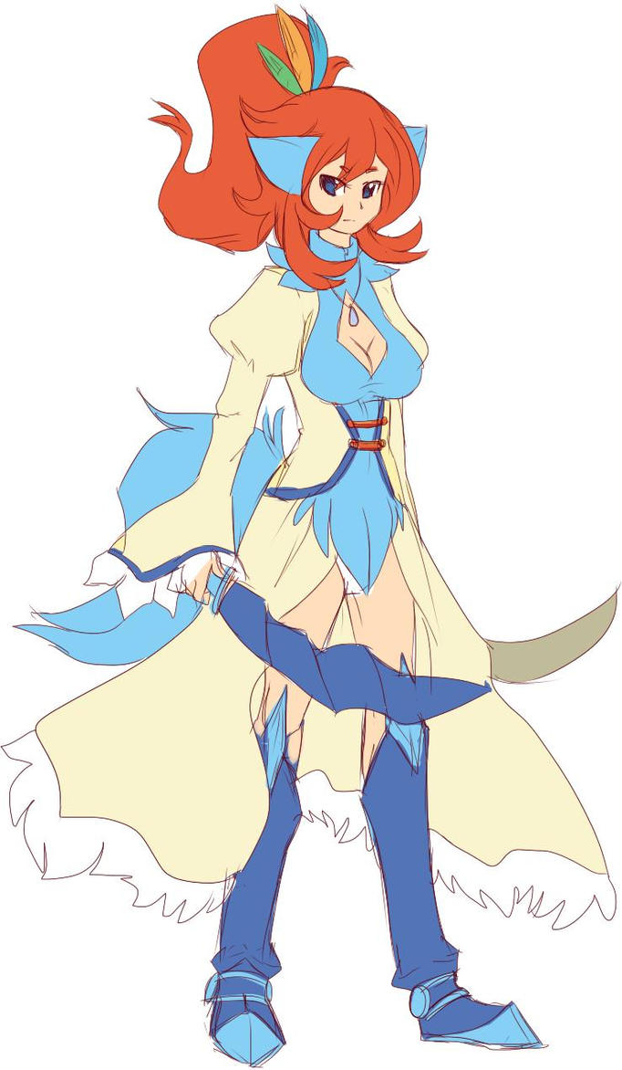 HO lopugeng (Lopunny + gengar core) Le Borné. Saber_the_keldeo_by_winged_leafeon-d61xl61