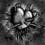 Lucafear Art- Ink Heart by Lucafear