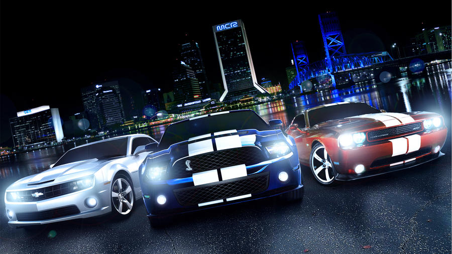 Muscle Cars Wallpaper Version By MiracoL ...