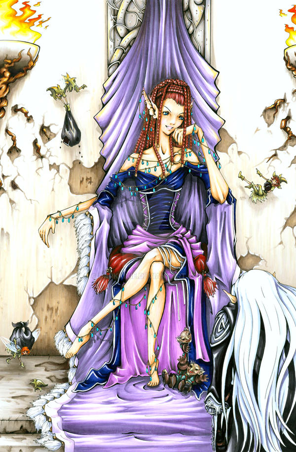The Unseelie Queen by AbigailLarson on DeviantArt