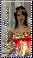 Wonder Woman Stamp by TrekkieGal