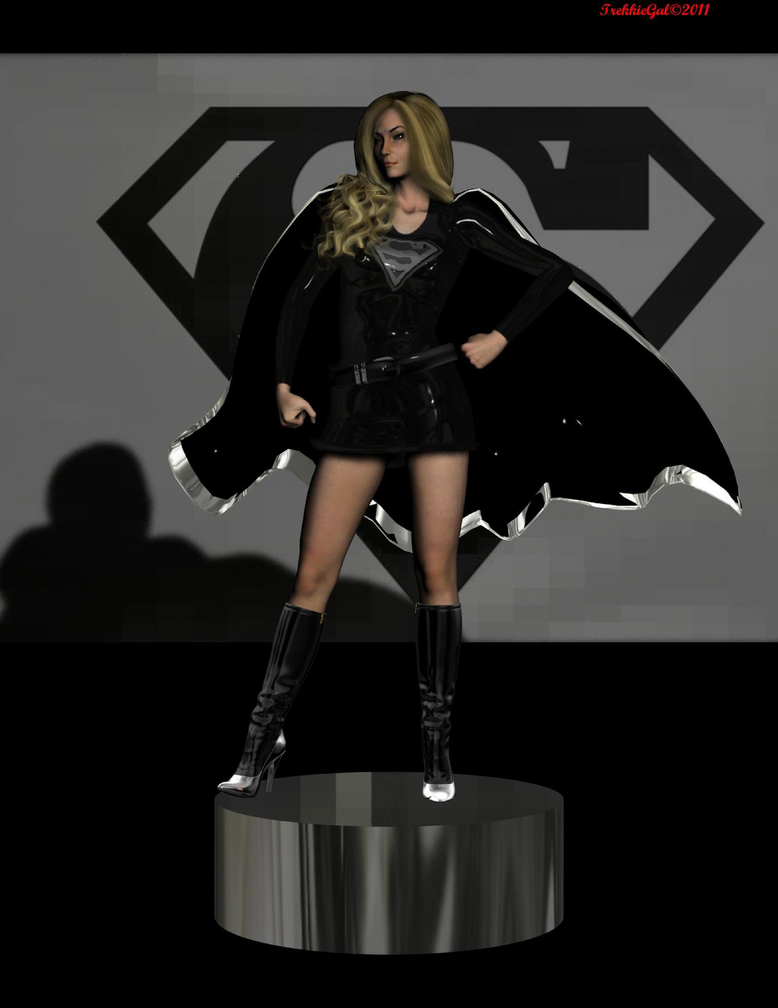 dark supergirl wallpaper - photo #23