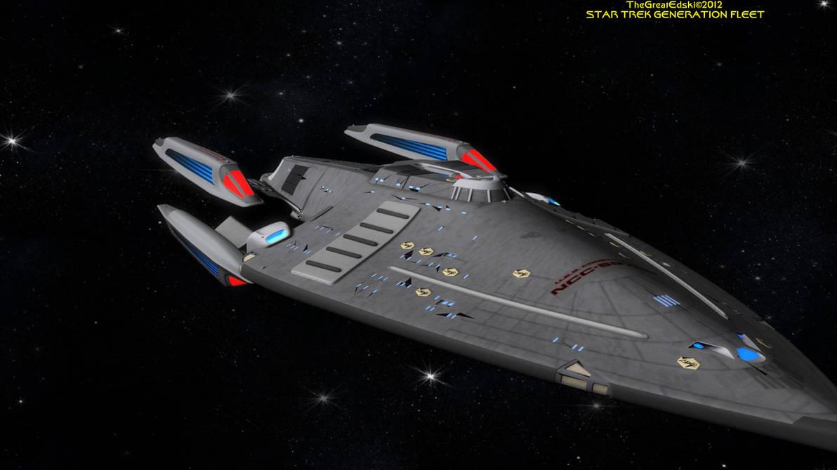 Star Trek: GENERATION FLEET U S S  Constitution by