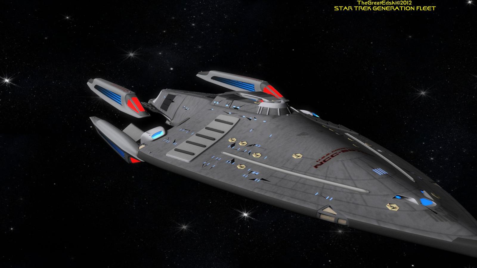 star trek generation fleet u s s constitution by