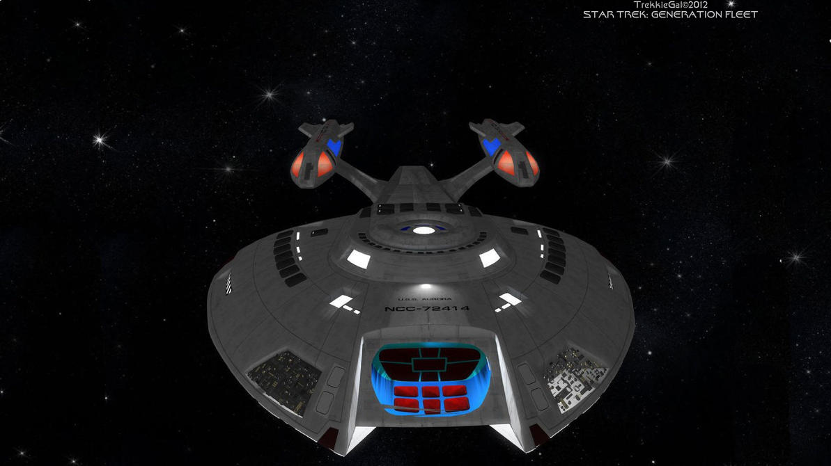 lantian starship aurora by - photo #7