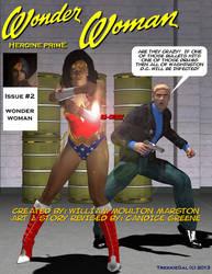 Heroine Prime Issue 2 Index Wonder Woman