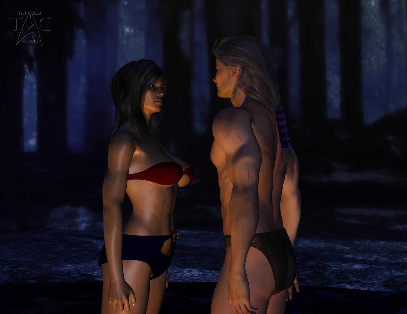 Amazonos: Ch.4 Of Gods, and Amazons by TrekkieGal