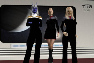 Striking Trio by TrekkieGal