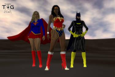 Heroine Prime: Trinity by TrekkieGal