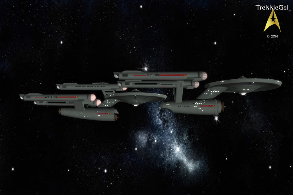 Flagships-002 by TrekkieGal