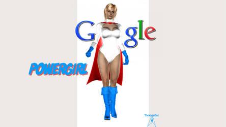 Google Power Girl by TrekkieGal
