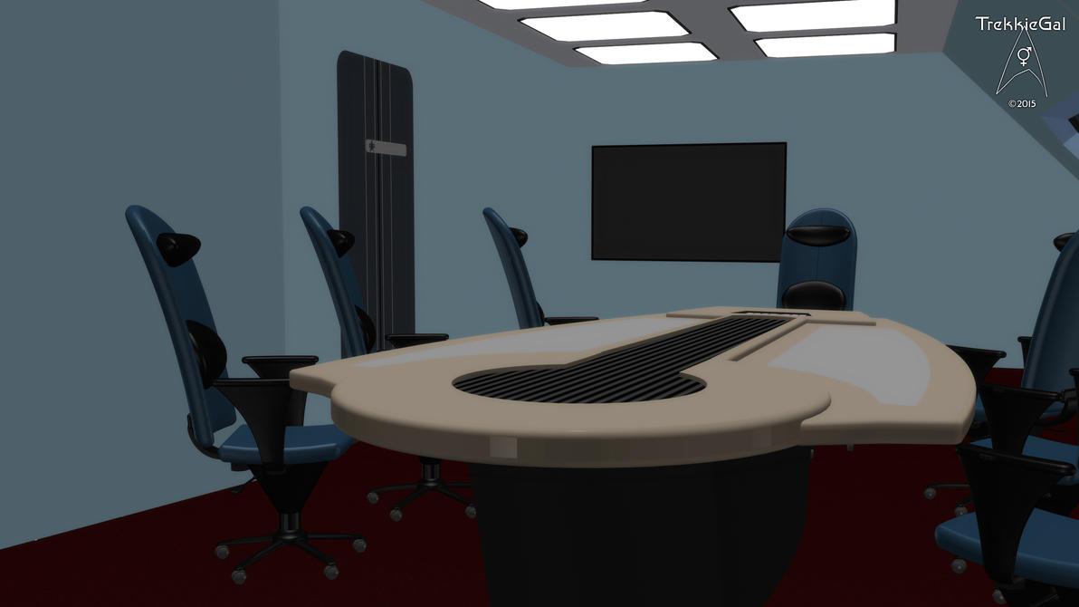 Star Trek Briefing Room Table