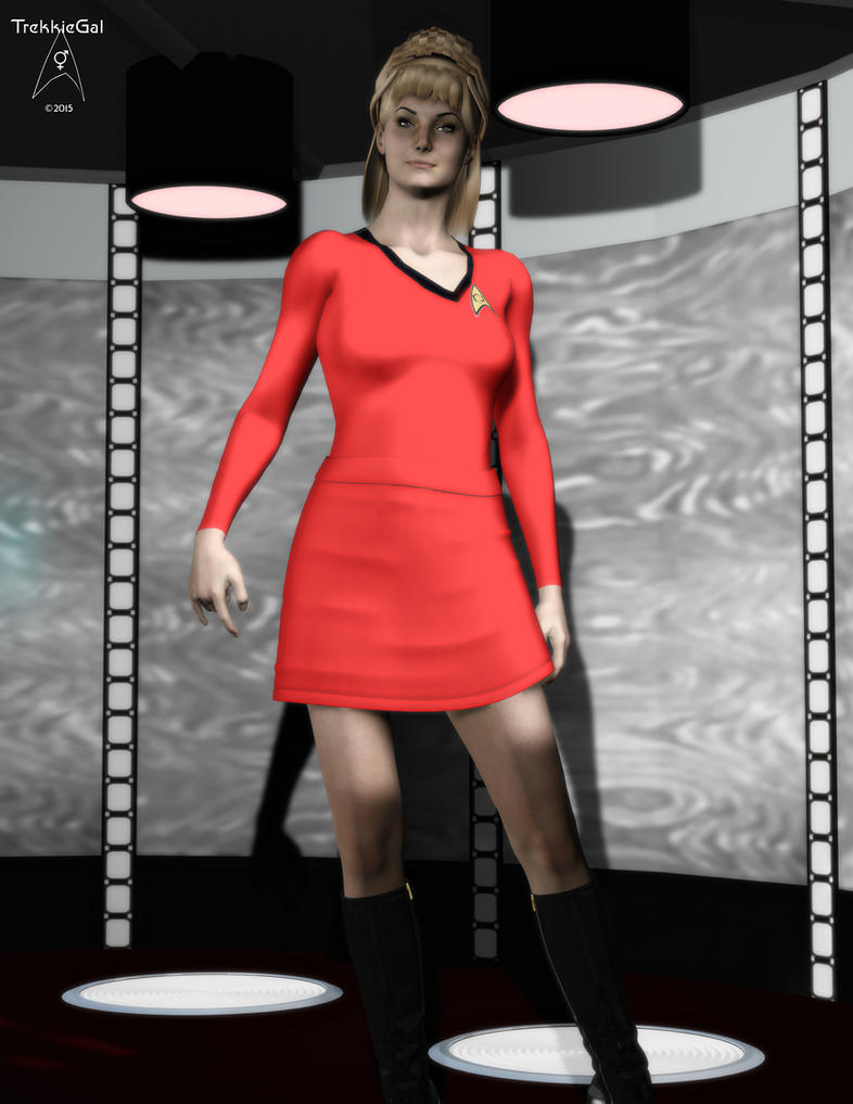 Yeoman Janice Rand by TrekkieGal